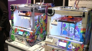 3d-print-show-D3D_ONE_EVO_printers_with_Create_it_REAL_high_speed_electronics